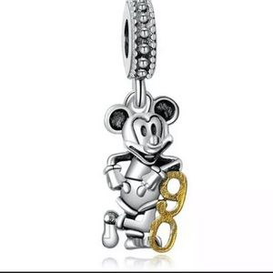 New European Mickey 90 Year Commemorate Charm